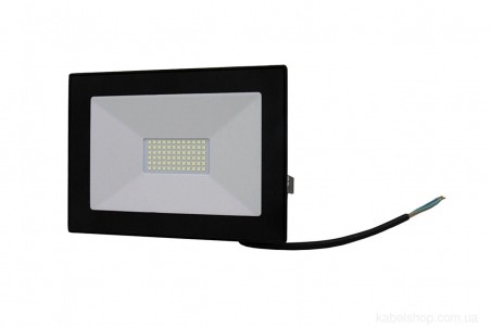 Прожектор LED 50W Ultra Slim 180-260V 4500Lm 6500K IP65 SMD (TNSy, ТНСи)