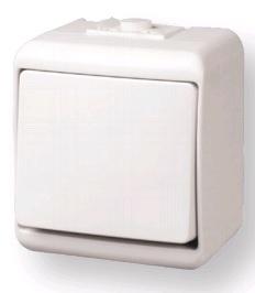 Выключатель 1-клавишный (IP44) VHE-1