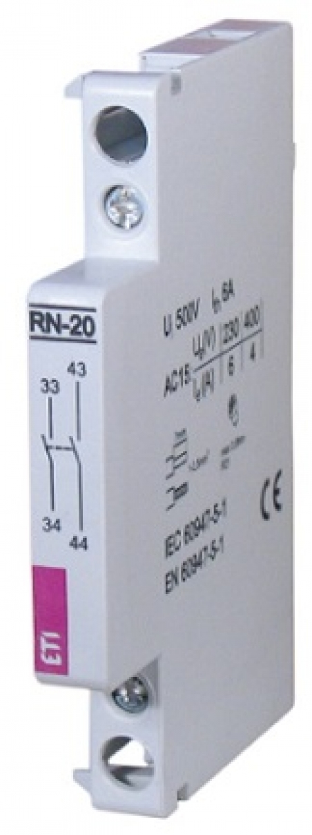 Блок- контакт RN-11 (1NO+1NC) (для типа RD)