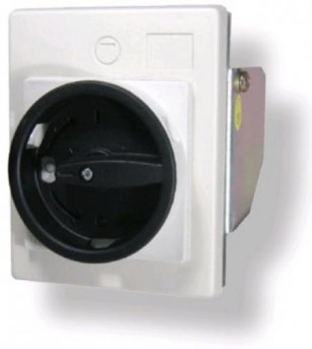 Рукоятка серо-черная для монтажа непосредственно на дверцу шкафа FMEE55 IP55