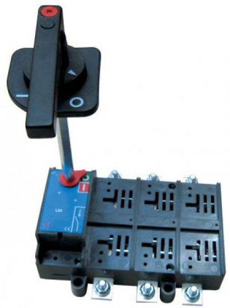 Разъединитель нагрузки с выносной рукояткой LA1/D 160A 4P