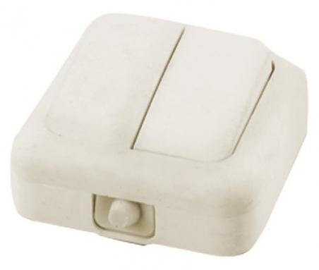 Выключатель  наружной установки 2-кл.IP44  (УТОС) (A56-У06)