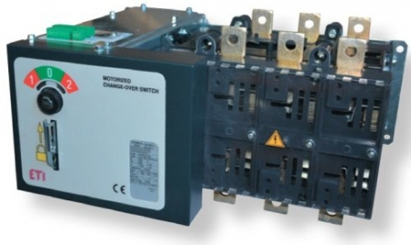 Переключатель нагрузки LA4 MO 800A 4P CO