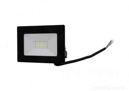 Прожектор LED 20W Ultra Slim 180-260V 1800Lm 6500K IP65 SMD (TNSy, ТНСи)