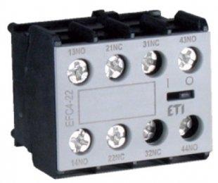 Блок-контакт EFC4-22 (2NO+2NC)