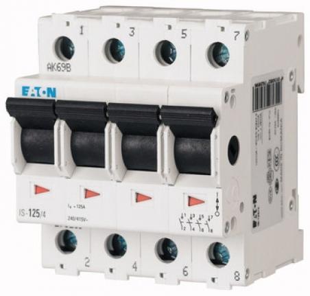 Главный выкл.нагрузки, изоляционный IS-100/4 Moeller-EATON ((CK))(276285-)
