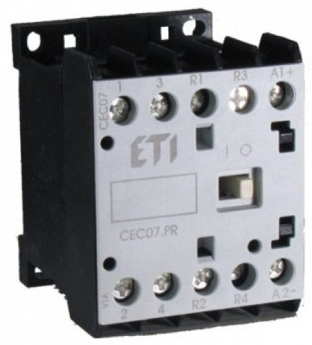 Контактор миниатюрный  CEC 16.10-24V DC (16A; 7,5kW; AC3)