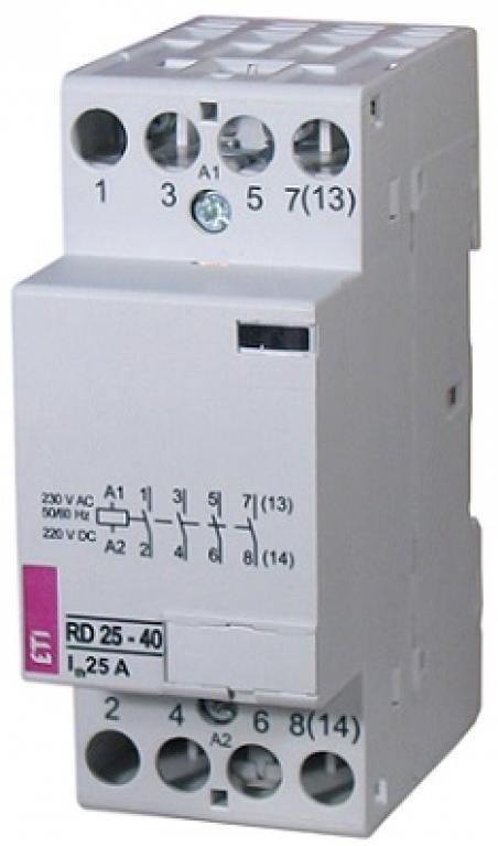 Контактор RD 25-04 (230V AC/DC) (AC1)