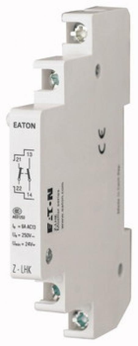 Блок вспомогательных контактов 1NO.+1NC. Z-LHK Moeller-EATON ((CD))(248440-)