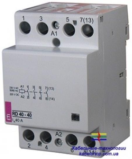 Контактор RD 40-31 (230V AC/DC) (AC1)