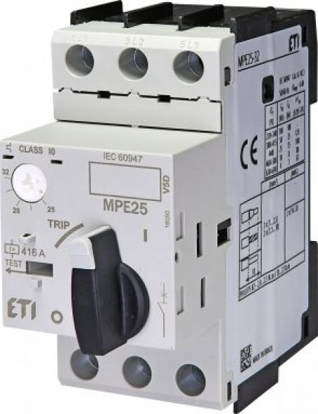 Авт. выключатель защиты двигателя MPE25-20
