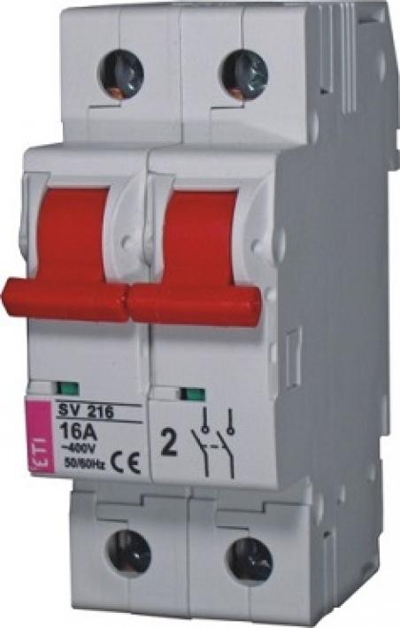Выключатель нагрузки SV 2125  2р 125A