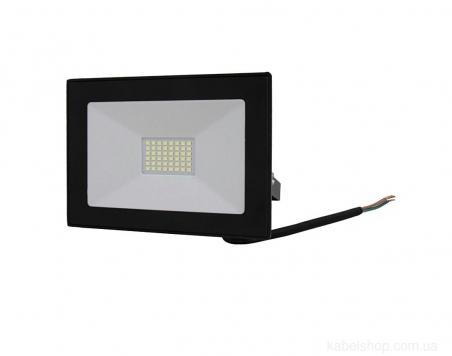 Прожектор LED 30W Ultra Slim 180-260V 2500Lm 6500K IP65 SMD (TNSy, ТНСи)