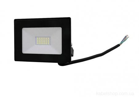 Прожектор LED 10W Ultra Slim 180-260V 900Lm 6500K IP65 SMD (TNSy, ТНСи)
