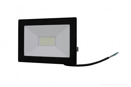 Прожектор LED 50W Ultra Slim 180-260V 4500Lm 6500K IP65 SMD (TNSy, ТНСи)