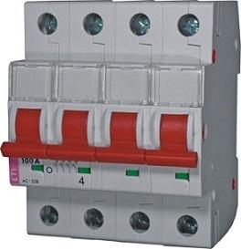 Выключатель нагрузки SV 4100  4р 100А