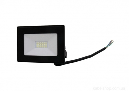 Прожектор LED 20W Ultra Slim 180-260V 1800Lm 6500K IP65 SMD (TNSy, ТНСи)